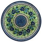 "Pattern designed and signed by Teresa Andrukiewicz The artist has been connected with the Artistic Handicraft Cooperative ""Artistic Ceramics and Pottery"" since 1996. Since 2001 she has been a pattern designer. Unikat pattern number U2390."