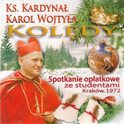 In 1972, on the 25th anniversary of his ordination to the priesthood, Cardinal Karol Wojtyla met with a group of students in Krakow to celebrate the event.  During this meeting the future Pope not only spoke eloquently to the group but joined them