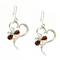 Lovely set of sterling silver earrings.