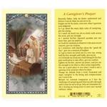 Polish Art Center - A Caregiver's Prayer - Holy Card.  Plastic Coated. Picture and prayer is on the front, text is on the back of the card.