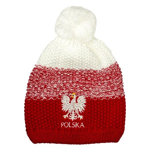 bbf8f0ee4c4a Polska Winter Cap White/Red - Czapka Zimowa - Polish Art Center