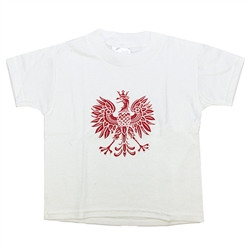 Polish Eagle T-Shirt, Children's 100% Cotton
