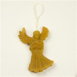 This pure beeswax angel is hand made by the residents of Dom Teczowy, a home for the mentally impaired located in Sopot, Poland. Your purchase helps to support the Dom Teczowy Foundation that provides the care for the residents.