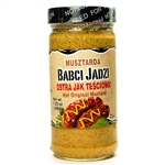 If you like your mustard hot this is the one for you.  As the label says in Polish - Ostra Jak Tesciowa (Sharp As A Mother-In-Law).