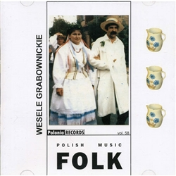 This group is from the town of Grabownica in southeastern Poland directly south of Rzeszow. The band was formed in 1964 and today is composed of musicians and singers who perform in regional Rzeszow costumes.  This 2 CD set is a collection of 68 songs of