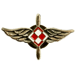 The Air Force checkerboard (Polish: szachownica lotnicza) is a national marking for the aircraft of the Polish Air Force, equivalent to roundels used in other nations' air forces. It consists of four equal squares, of which the upper left and lower right