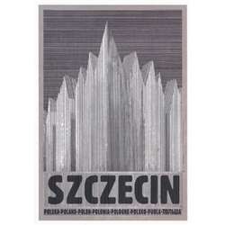Polish poster designed in 2015 by artist Ryszard Kaja to promote tourism to Poland.