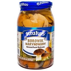 "If you are not familiar with marinated mushrooms their texture is similar to that of an oyster. We've nicknamed them ""Polish Oysters"" because of that similarity and others just call them ""slimy mushrooms"". Either way they are a great delicacy! If you like"