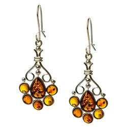 Stylish and unique. Amber (Bursztyn in Polish) is fossilized tree sap that dates back 40 million years. It comes from all around the world, but the highest quality and richest deposits are found around the Baltic Sea.