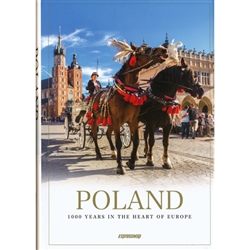 Poland is a fascinating mixture of tradition and modernity, centuries-old monuments and innovative architectural solutions. The exquisitely edited glossy album Poland. 1000 Years in the Heart of Europe offers a journey through this varied country