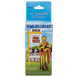 Can't Sell A Home? Ask St. Joseph....He's helped 1000's. The authentic St. Joseph home sale kit with instructions. 