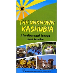 This brochure is designed to acquaint readers with the Kashubian region: the history, language, culture and cuisine. Full color brochure in English includes a map of region which list the major towns.