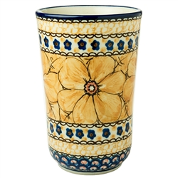 "A beautiful design by master artist Jacek Chyla! Hand made in Poland. Signed by the artist. The artist has been connected with the Artistic Handicraft Cooperative ""Artistic Ceramics and Pottery"" since 1986. Since 1994 he has been a pattern designer."