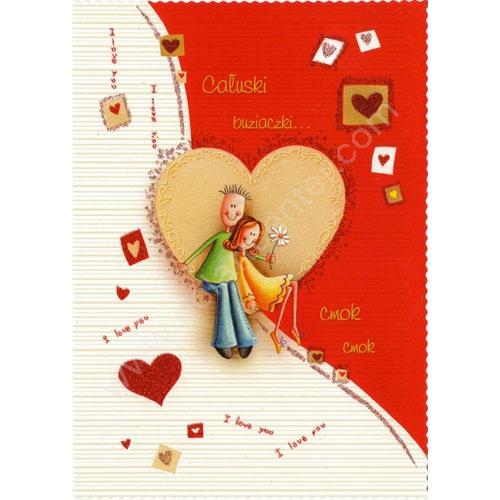 Polish art center polish valentine greeting card alternative views m4hsunfo