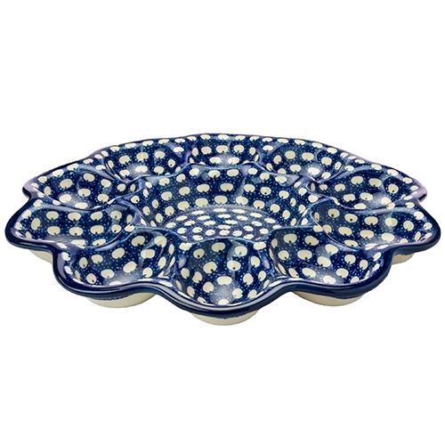 Polish Art Center - Polish Pottery Stoneware Egg Tray
