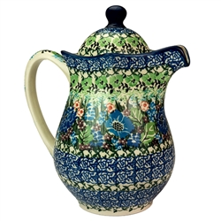 "Pattern designed by master artist Maria Starzyk. The artist has been connected with Handicraft Cooperative ""Artistic Ceramics and Pottery"" since 1995, whereas since 1997 she has been a pattern designer. Unikat pattern number U4572"
