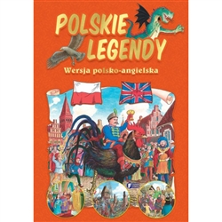 We have looked far and wide for original Polish legends in English and Polish. We just found this collection of 7 of the best known Polish legends. What caught our eye (besides the stories) are the lovely color illustrations in a medieval format. Included