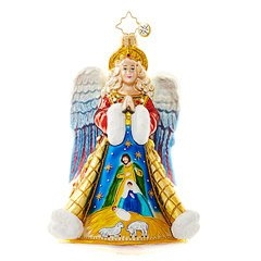 This angelic design offers us a beautiful way to remember the meaning of this holy holiday season.