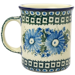 "Pattern designed and signed by master artist Maria Iwicka. The artist has been connected with the Artistic Handicraft Cooperative ""Artistic Ceramics and Pottery"" since 1981. A pattern designer since 1993. Unikat pattern number U3073."