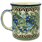 "Pattern designed by master artist Zofia Spychalska. The artist has been connected with the Artistic Handicraft Cooperative ""Artistic Ceramics and Pottery"" since 1989. Since 1997 she has been a pattern designer. Unikat pattern number U2957."