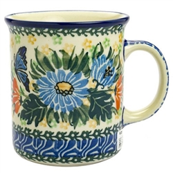 "Designed and signed by master artist Krystyna Deptula. The artist has been connected with the Artistic Handicraft Cooperative ""Artistic Ceramics and Pottery"" since 1991. Since 1997 she has been a pattern designer. Unikat pattern number U2555."