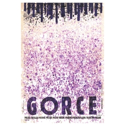 "Gorce, Polish Promotion Poster designed by artist Ryszard Kaja. It has now been turned into a post card size 4.75"" x 6.75"" - 12cm x 17cm."