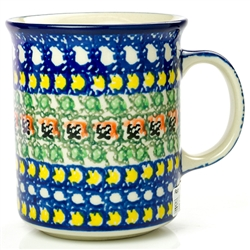 "Pattern designed by Ewa Tubaj. The artist has been connected with the Artistic Handicraft Cooperative ""Artistic Ceramics and Pottery"" since 1990. Since 1995 she has been a pattern designer. Signature Series Pattern: U465."