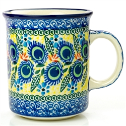 "Pattern designed by Karolina Sliwinska. The artist has been connected with the Artistic Handicraft Cooperative ""Artistic Ceramics and Pottery"" from 2004. Since 2005 she has been a pattern designer. Unikat pattern number U2317."