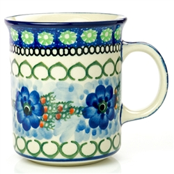 "Pattern designed by Anna Pasierbiewicz. The artist has been connected with the Artistic Handicraft Cooperative ""Artistic Ceramics and Pottery"" since 1970. Since 1992 she has been a pattern designer. Unikat pattern number U496."