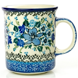 "Pattern Designed By Teresa Liana. The artist has been connected with the Artistic Handicraft Cooperative ""Artistic Ceramics and Pottery"" since 1983. Since 1992 she has been a pattern designer. Unikat pattern number U4421."