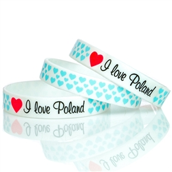 "Medium size (7.5"" - 19cm) wrist band with a little stretch.