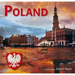 This delightful album features 96 pages of photographs of the most important places in Poland.  A great little guide for the traveler or just for learning about Poland's highlights.  The last chapter feature pictures of famous Poles in history. Photograph
