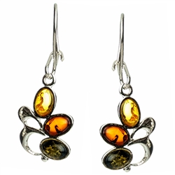 Amber color pattern orders vary.  Amber (Bursztyn in Polish) is fossilized tree sap that dates back 40 million years. It comes from all around the world, but the highest quality and richest deposits are found around the Baltic Sea.