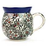 "Pattern designed by master artist Maria Starzyk . The artist has been connected with Handicraft Cooperative ""Artistic Ceramics and Pottery"" since 1995, whereas since 1997 she has been a pattern designer. Unikat pattern number U4783."