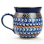 "Unikat pattern designed by master artist Jacek Chyla. The artist has been connected with the Artistic Handicraft Cooperative ""Artistic Ceramics and Pottery"" since 1986. Since 1994 he has been a pattern designer. Unikat pattern number U86."