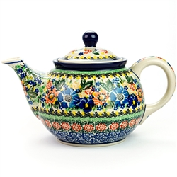 "Pattern designed by master artist Maria Starzyk . The artist has been connected with Handicraft Cooperative ""Artistic Ceramics and Pottery"" since 1995, whereas since 1997 she has been a pattern designer. Unikat pattern number U4635.."