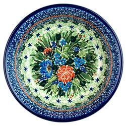 "Pattern designed By Teresa Liana. The artist has been connected with the Artistic Handicraft Cooperative ""Artistic Ceramics and Pottery"" since 1983. Since 1992 she has been a pattern designer. Unikat pattern number U3977."