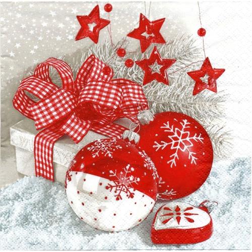 Alternative Views: - Polish Art Center - Polish Christmas Luncheon Napkins (package Of 20