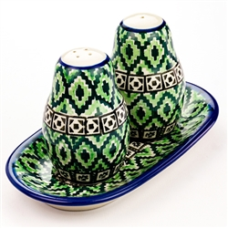 "Designed And Signed By Honorata Kedzierksa. The artist has been connected with the Artistic Handicraft Cooperative ""Artistic Ceramics and Pottery"" since 1987. Since 2002 she has been a pattern designer. Unikat design pattern number U732."