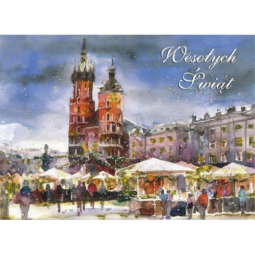 Polish Art Center Polish Folk Christmas Card Heart Of Poland