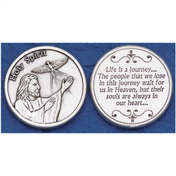 Great for your pocket or coin purse. Life is a journey.... The people that we lose on this journey.....