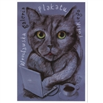 "Polish Poster Gallery, Polish Promotion Poster designed by Leszek Zebrowski in 2017. It has now been turned into a post card size 4.75"" x 6.75"" - 12cm x 17cm.