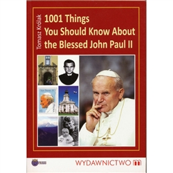 1001 Things You Should Know About the Blessed John Paul II is a collection of interesting facts, events, speeches, and anecdotes about the Holy Father. It presents specific periods of the life of Karol Wojtyla / John Paul II as well as the essential theme