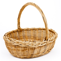 Poland is famous for hand made willow baskets. This is a tradition in areas of the country where willow grows wild and is very much a village and family industry. Beautifully crafted and sturdy, these baskets can last a generation. Perfect for Easter