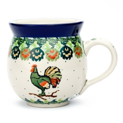 "Pattern designed by Wirginia Cebrowska. The artist has been connected with the Artistic Handicraft Cooperative ""Artistic Ceramics and Pottery"" since 2001. Since 2010 she has been a pattern designer. Unikat design U4760."