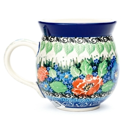 "Designed And Signed By Maria Starzyk The artist has been connected with the Artistic Handicraft Cooperative ""Artistic Ceramics and Pottery"" since 1997. Since 2003 she has been a pattern designer. Signature Unikat pattern number U4718."