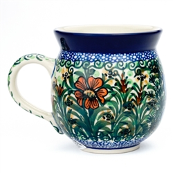 "Designed and signed by Jolanta Okraska. The artist has been connected with the Artistic Handicraft Cooperative ""Artistic Ceramics and Pottery"" since 1983. Since 1985 she has been a pattern designer. Signature Series Pattern: U1491"