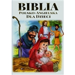 A great edition in Polish and English for children, depicting the 12 most famous stories from the Holy Bible, including: Cain and Abel, Jonah, Moses, the birth of Jesus, the last supper.