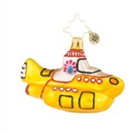 We hear you, Beatles fans around the world! This Yellow Submarine will surely brighten your holidays. So retro; so Fab Four--you'll treasure it forever more.