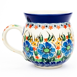 "Pattern Designed By Maria Starzyk. The artist has been connected with the Artistic Handicraft Cooperative ""Artistic Ceramics and Pottery"" since 1997. Since 2003 she has been a pattern designer. Signature Unikat pattern number U1747."